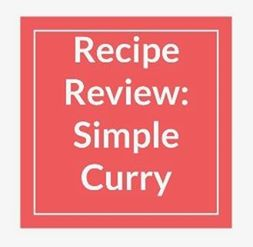 Recipe Review: Curry